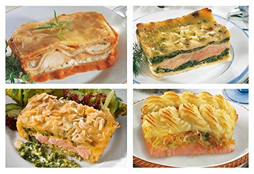 Kösers Edelfischkompositionen für den Ofen – 4 Schalen (1145 g) - Tiefkühlware