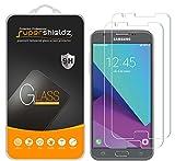 [2-Pack] Supershieldz for Samsung 'Galaxy J3 Emerge' Tempered Glass Screen Protector, Anti-Scratch, Anti-Fingerprint, Lifetime Replacement Warranty