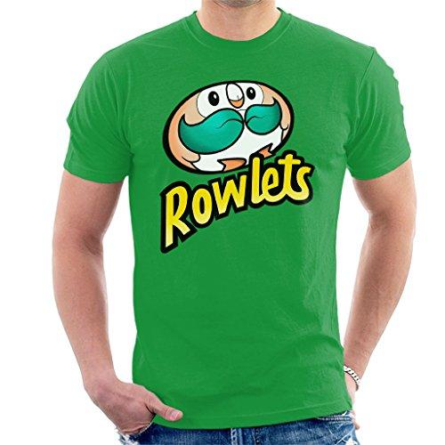 Rowlets Pringles Logo Men's T-Shirt Kelly Green