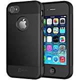JETech Case for iPhone 4s and iPhone 4, Black
