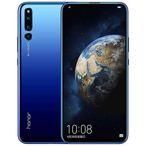 Gooplayer for Huawei Honor Magic 2 6.39 inch Smartphone Octa Core AI Camera Kirin 980 Android 9.0 NFC 6 FullView Display 40W Supercharge Dual SIM(6GB+128GB Magic Blue)
