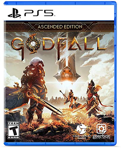 Amazon.com: Gearbox Publishing Godfall: Ascended Edition - PlayStation 5 Ascended Edition: Gearbox Publishing LLC: Video Games $30