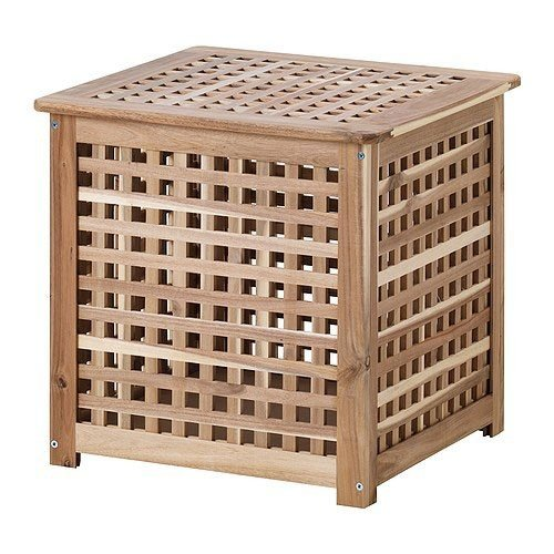 Ikea HOL Beistelltisch in Akazie (50x50x50cm)