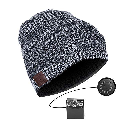 Anpress Wireless Bluetooth Beanie Hat Soft Velet Knitted Music Hat...