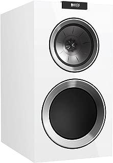 KEF R300 Bookshelf Loudspeaker - Gloss White (Pair)