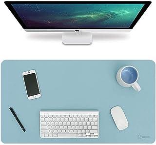 BIKUUL Desk Pad, Non-Slip PU Leather Desk Mouse Pad Waterproof, Dual-Side Use Desk Writing Mat for Office Home, 60cm x 30c...
