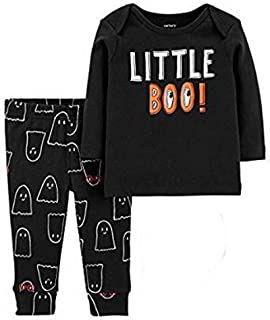 Carter's Baby Boys 3pc Halloween Set- Little Boo! & My First Halloween Bodysuit