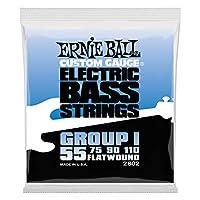 【正規品】 ERNIE BALL 2802 ベース弦 (55-110) FLATWOUND GROUP I BASS フラットワウンド・グループ1 ベース
