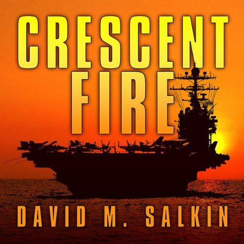 Crescent Fire audiobook cover art