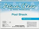 Aqua Clear 50024ACL Products Pool Shock, (24 1-lb Bags)