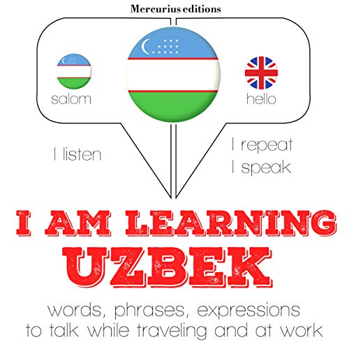 I am learning Uzbek audiobook cover art