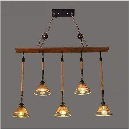 Yan Amazon Cuerda Iluminación Colgante esLampara Liu Mei gybf76Y