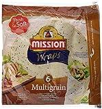 Mission - Wraps Multigrain - Paquetes de 6 x 370 g, Total: 2220 gr