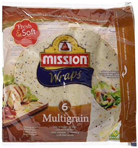 Mission - Wraps Multigrain - Paquetes de 6 x 370