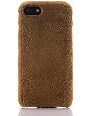 SevenPanda Compatible con Samsung S10 Plus Slim Case, para Samsung S10 Plus Funda Protectora Delgada Funda Galaxy S10 Plus Funda Hecha a Mano Funda Suave Hecha a Mano de TPU Ultra Slim Funda - Marrón