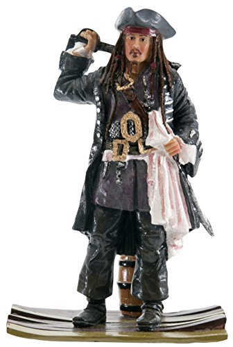 Penn-Plax Officially Licensed Disney Aquarium Ornaments from Pirates of The Caribbean (Jack Sparrow)