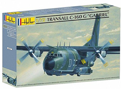 Heller 80387 - Modellino da Costruire, Aereo Militare Transall Gabriel, Scala 1:72 [Importato da Francia]
