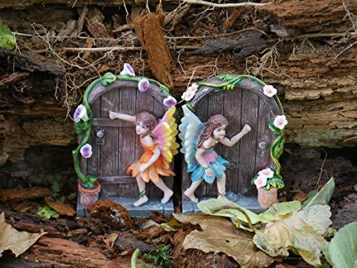Magical Garden Fairy Théière Maison Ornement miniature Théière Extérieur Décoration
