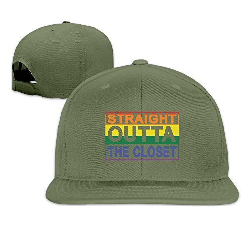 RISE Straight Outta The Closet Gay and Lesbian Pride Trucker Hats