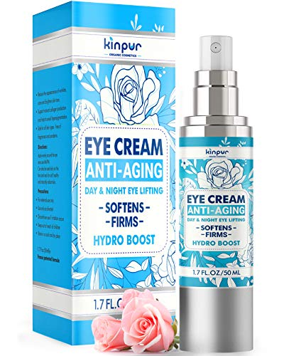 Premium Total Under Eye Cream for Dark Circles and Puffiness - Moisturizes and Protects - Perfect Eye Cream Anti-Aging for Eye Bags, Fine Lines, Crow's Feet - Made in USA - Eye Cream for Wrinkles, 1.7 oz