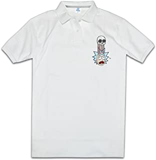 Funny Design Mens Classic Rick And Morty Cosmic Justin Roiland Best Polo Shirts Polo Plain T Shirts