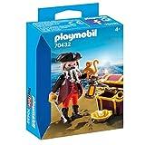 Playmo bil 70432 Pirata y mono con cofre del tesoro