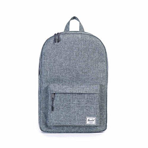 Herschel Unisex Classic Backpack Rucksack, Rabe Kreuzschraffur I, 24L