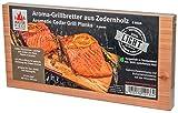 MASTER PIECE Light 2er Zeder 2 Grillbretter aus Zedernholz Grillplanken Premium Qualität, Set à 2 Stk, BBQ Räucherbretter im günstigen 2er Pack