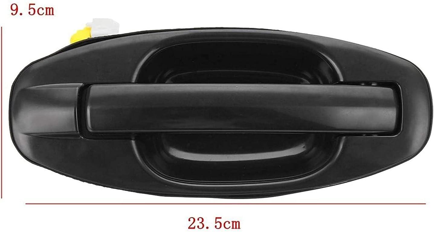 Maniglia esterna della portiera laterale nuova di zecca Maniglia della portiera esterna anteriore sinistra destra anteriore nera adatta per Hyundai Santa Fe 2001 2002 2003 2004 2005 2006 Maniglia de