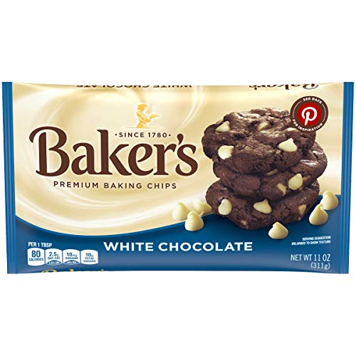 Baker's White Chocolate Chips, 11 Ounce