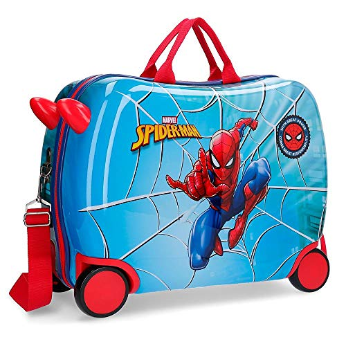 Marvel Spiderman Street - Maleta correpasillos, 50 cm, Multicolor