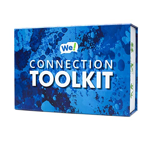 We! Connection Toolkit - Comprehensive Product Bundle for Team Building, Communication, and Creative Connections in The Workplace - Includes: Engage Cards, Connect Cards, and Two Communication Books