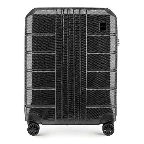 Stabiler Handgepäck Hartschalen Koffer Trolley von Wittchen Material polycarbonat 4 Lenkrollen...