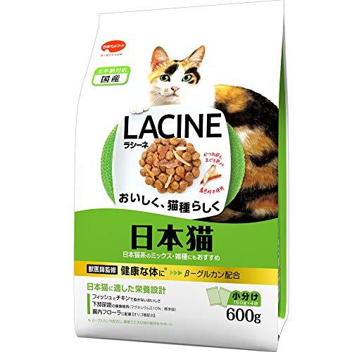 ラシーネ (LACINE) キャットフード ラシーネ 日本猫 フィッシュ 600g