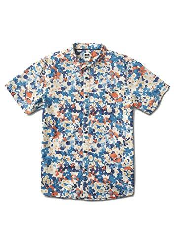 Reef_Apparel Reef Magical SS Camisa, Beige (Natural Nat), X-Large para Hombre