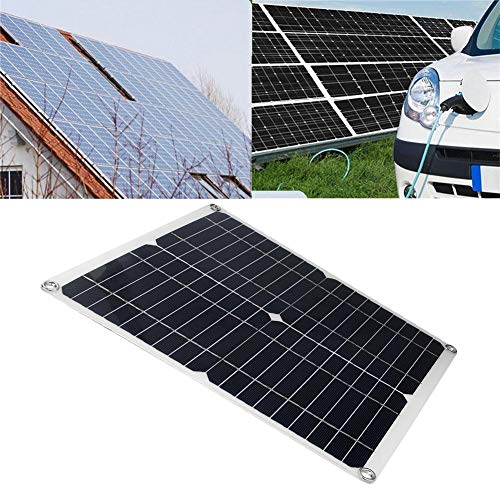 35W DC 18V/5V Dual USB tragbares monokristallines Solarenergieversorgungs-Bank-Panel im Freien Hocheffizientes externes Ladegerät