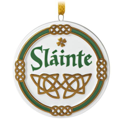 Hallmark Keepsake Christmas Ornament 2020, An Irish Toast Sláinte, Porcelain