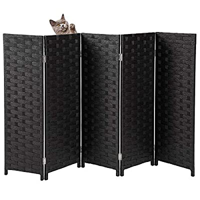 Yangbaga Cat Litter Box Privacy Screen, 3.1' High 5' Wide Foldable and Detachable, Great Decor and Easy to storage