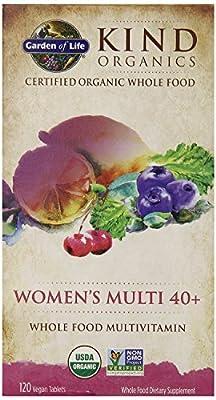 Garden of Life Kind Organics Women's Multi 40 Plus Tablets