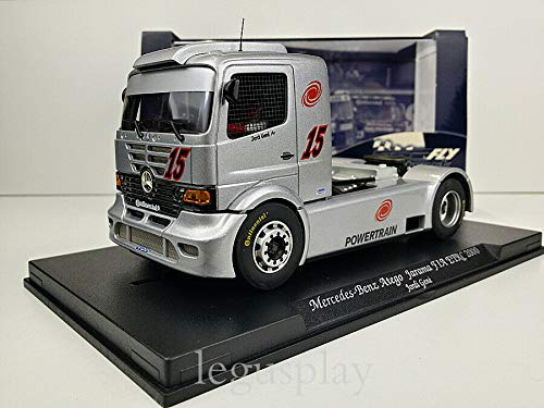 FLy Slot Scalextric Truck GBtrack 08004 Compatible Mercedes Benz Atego Jarama Fia...