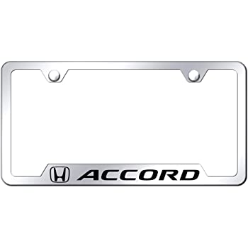 INC Au-Tomotive Gold Honda Accord Chrome License Frame