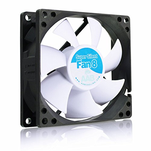 AABCOOLING Super Silent Fan 8 - Un Silencioso y Muy Efectivo Ventilador 80mm, Ventilador Laptop, Fan Cooler 8cm, Fan PC, 33m3/h, 1600 RPM 13,9 dB(A)