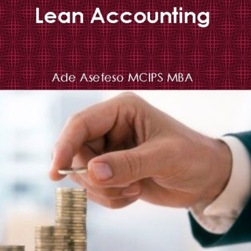 Lean Accounting audiobook cover art