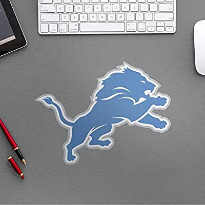 FATHEAD NFL Detroit Lions - Helmet Teammate- Officially Licensed Removable Wall Decal, Multicolor, Large - 89-03977