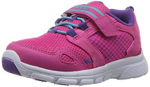 Stride Rite Girls' Made 2 Play Taylor Sneaker, Pink, 5 W US Toddler