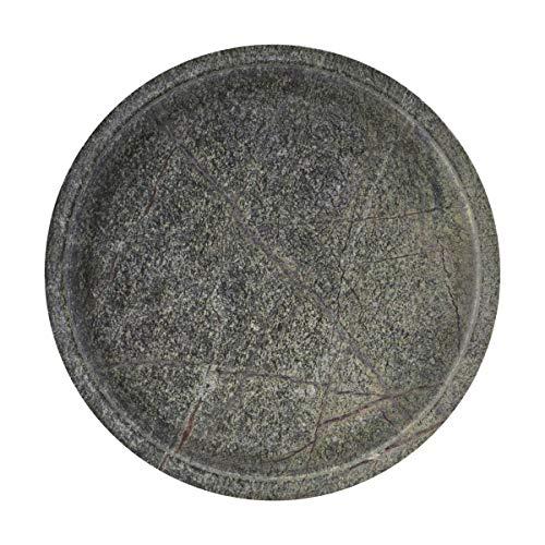 House Doctor Tablett, Grüner Marmor, 30 x 30 cm