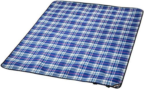 Badedecke Picknickdecke Stranddecke Outdoordecke Decke von KINGCAMP 175 x 135cm mit Tragetasche