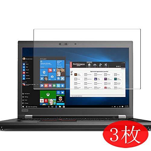 VacFun 3 Piezas HD Claro Protector de Pantalla para Lenovo ThinkPad P72 20MBCTO1WW 17.3
