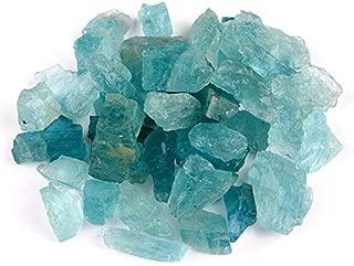 rough aquamarine crystal