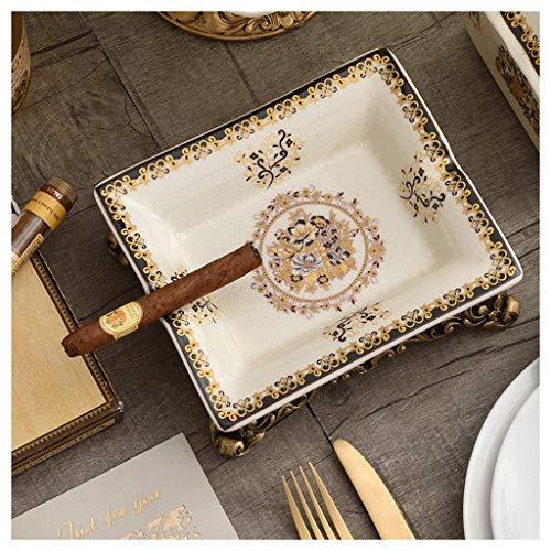 Asbak Liuyu · Woonkamer Grijze Bloem Patroon Keramische Mode Ideeën Ice Crack Porselein Home Decoraties Woonkamer Koffie Tafel Eettafel Decoratie (20 * 17 * 7cm)